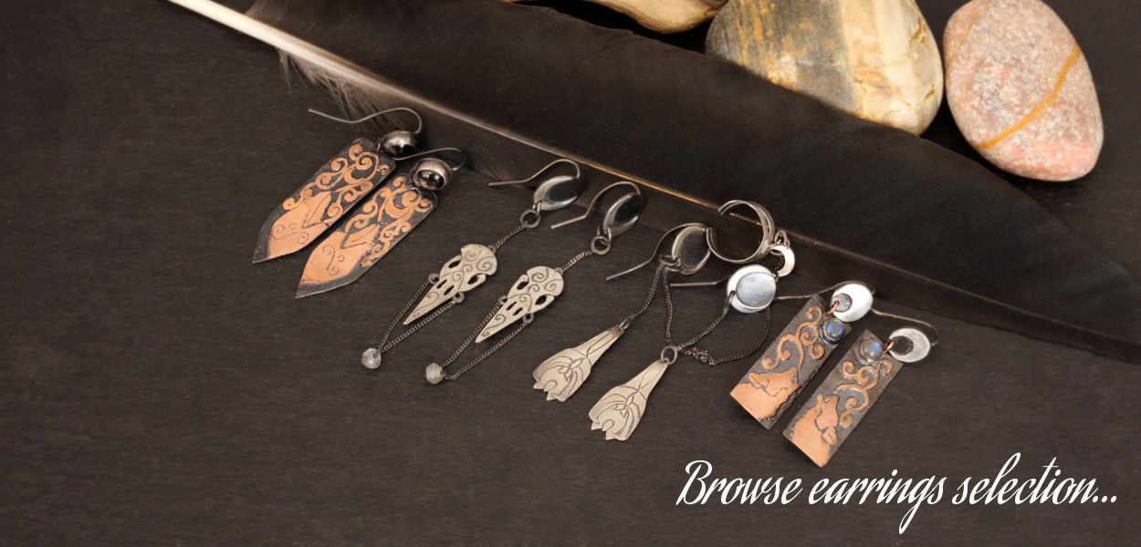 Browse earrings selection