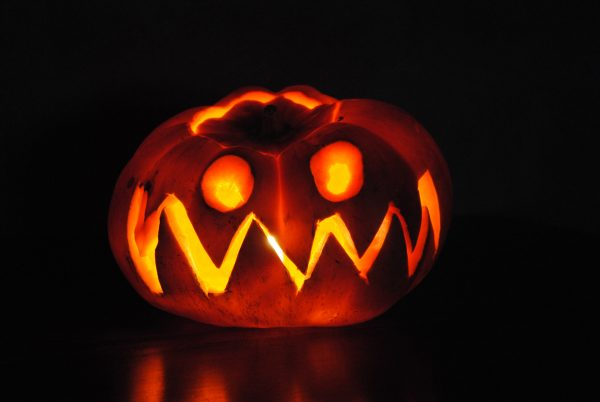 Alternative Halloween playlist pumpkin photo